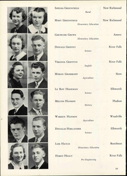 Page 70, 1940 Edition, Wisconsin State Teachers College - Meletean Yearbook (River Falls, WI) online yearbook collection