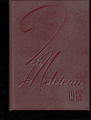 Wisconsin State Teachers College - Meletean Yearbook (River Falls, WI) online yearbook collection, 1948 Edition, Page 1