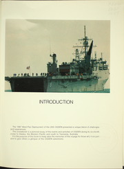 Page 5, 1987 Edition, Ogden (LPD 5) - Naval Cruise Book online yearbook collection