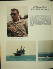 Page 8, 1987 Edition, Ogden (LPD 5) - Naval Cruise Book online yearbook collection