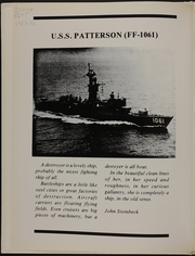 Page 4, 1989 Edition, Patterson (FF 1061) - Naval Cruise Book online yearbook collection