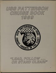 Page 5, 1989 Edition, Patterson (FF 1061) - Naval Cruise Book online yearbook collection
