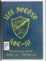 1958 Edition, Pocono (AGC 16) - Naval Cruise Book