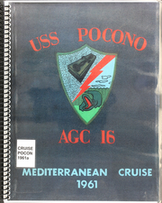 1961 Edition, Pocono (AGC 16) - Naval Cruise Book