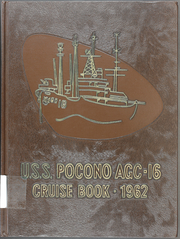 1962 Edition, Pocono (AGC 16) - Naval Cruise Book