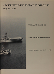 Page 13, 1966 Edition, Princeton (LPH 5) - Naval Cruise Book online yearbook collection