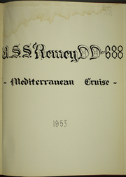 Page 7, 1953 Edition, Remey (DD 688) - Naval Cruise Book online yearbook collection