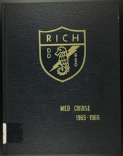 1966 Edition, Rich (DD 820) - Naval Cruise Book
