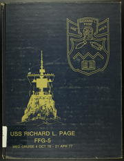 1977 Edition, Richard L Page (FFG 5) - Naval Cruise Book