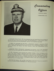 Page 10, 1966 Edition, Robert L Wilson (DD 847) - Naval Cruise Book online yearbook collection