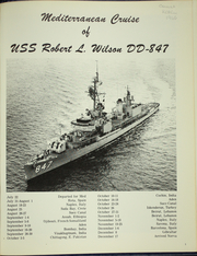 Page 5, 1966 Edition, Robert L Wilson (DD 847) - Naval Cruise Book online yearbook collection