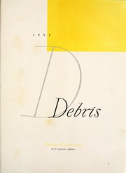 Page 5, 1955 Edition, Purdue University - Debris Yearbook (West Lafayette, IN) online yearbook collection