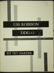 Page 5, 1966 Edition, Robison (DDG 12) - Naval Cruise Book online yearbook collection
