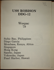 Page 5, 1979 Edition, Robison (DDG 12) - Naval Cruise Book online yearbook collection