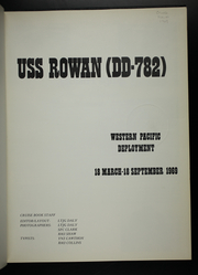 Page 5, 1969 Edition, Rowan (DD 782) - Naval Cruise Book online yearbook collection