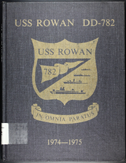 Page 1, 1975 Edition, Rowan (DD 782) - Naval Cruise Book online yearbook collection