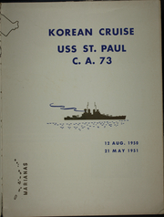 Page 7, 1951 Edition, Saint Paul (CA 73) - Naval Cruise Book online yearbook collection