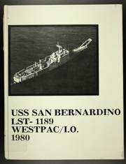 Page 1, 1980 Edition, San Bernardino (LST 1189) - Naval Cruise Book online yearbook collection