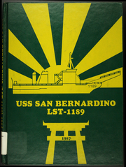 Page 1, 1987 Edition, San Bernardino (LST 1189) - Naval Cruise Book online yearbook collection