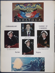 Page 14, 1972 Edition, Saratoga (CV 60) - Naval Cruise Book online yearbook collection