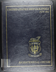 Page 1, 1976 Edition, Saratoga (CV 60) - Naval Cruise Book online yearbook collection