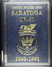 Page 1, 1991 Edition, Saratoga (CV 60) - Naval Cruise Book online yearbook collection