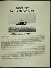 Page 5, 1987 Edition, Schenectady (LST 1185) - Naval Cruise Book online yearbook collection