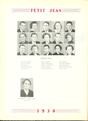 Page 74, 1938 Edition, Harding College - Petit Jean Yearbook (Searcy, AR) online yearbook collection