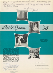 Page 5, 1958 Edition, Harding College - Petit Jean Yearbook (Searcy, AR) online yearbook collection