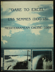 1984 Edition, Semmes (DDG 18) - Naval Cruise Book