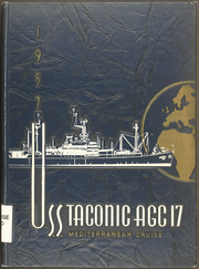 Page 1, 1957 Edition, Taconic (AGC 17) - Naval Cruise Book online yearbook collection