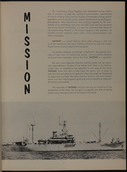 Page 11, 1957 Edition, Taconic (AGC 17) - Naval Cruise Book online yearbook collection