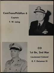 Page 13, 1957 Edition, Taconic (AGC 17) - Naval Cruise Book online yearbook collection