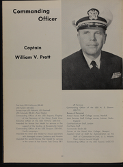 Page 14, 1957 Edition, Taconic (AGC 17) - Naval Cruise Book online yearbook collection