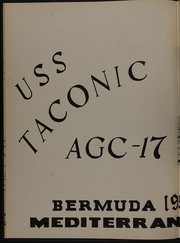 Page 6, 1957 Edition, Taconic (AGC 17) - Naval Cruise Book online yearbook collection