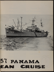 Page 7, 1957 Edition, Taconic (AGC 17) - Naval Cruise Book online yearbook collection
