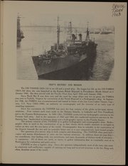 Page 3, 1963 Edition, Tanner (AGS 15) - Naval Cruise Book online yearbook collection