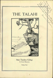 Page 9, 1926 Edition, St Cloud State Teachers College - Talahi Yearbook (St Cloud, MN) online yearbook collection