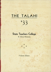 Page 5, 1933 Edition, St Cloud State Teachers College - Talahi Yearbook (St Cloud, MN) online yearbook collection