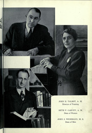 Page 15, 1939 Edition, St Cloud State Teachers College - Talahi Yearbook (St Cloud, MN) online yearbook collection