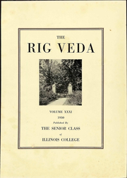 Page 9, 1930 Edition, Illinois College - Rig Yearbook (Jacksonville, IL) online yearbook collection
