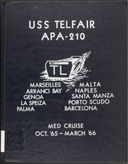 Telfair (APA 210) - Naval Cruise Book online yearbook collection, 1966 Edition, Page 1