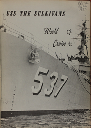 Page 3, 1953 Edition, The Sullivans (DD 537) - Naval Cruise Book online yearbook collection