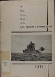 1953 Edition, Theodore E Chandler (DD 717) - Naval Cruise Book