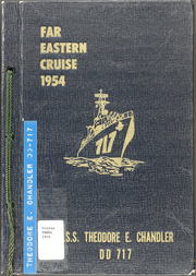 1954 Edition, Theodore E Chandler (DD 717) - Naval Cruise Book