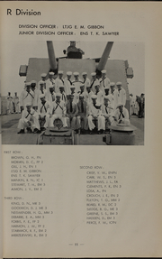 Page 15, 1954 Edition, Theodore E Chandler (DD 717) - Naval Cruise Book online yearbook collection