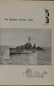 Page 7, 1954 Edition, Theodore E Chandler (DD 717) - Naval Cruise Book online yearbook collection