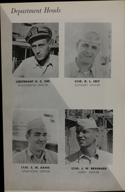 Page 10, 1955 Edition, Theodore E Chandler (DD 717) - Naval Cruise Book online yearbook collection