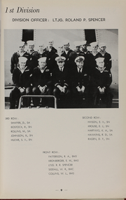Page 11, 1955 Edition, Theodore E Chandler (DD 717) - Naval Cruise Book online yearbook collection