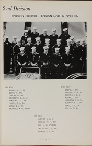 Page 13, 1955 Edition, Theodore E Chandler (DD 717) - Naval Cruise Book online yearbook collection